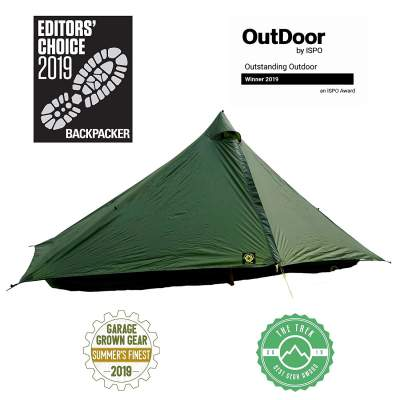 Six Moon Designs Lunar Solo 1 Person Ultralight Tent 2020