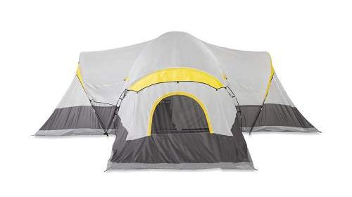 Tahoe Gear Manitoba 14 Person Outdoor Camping Tent