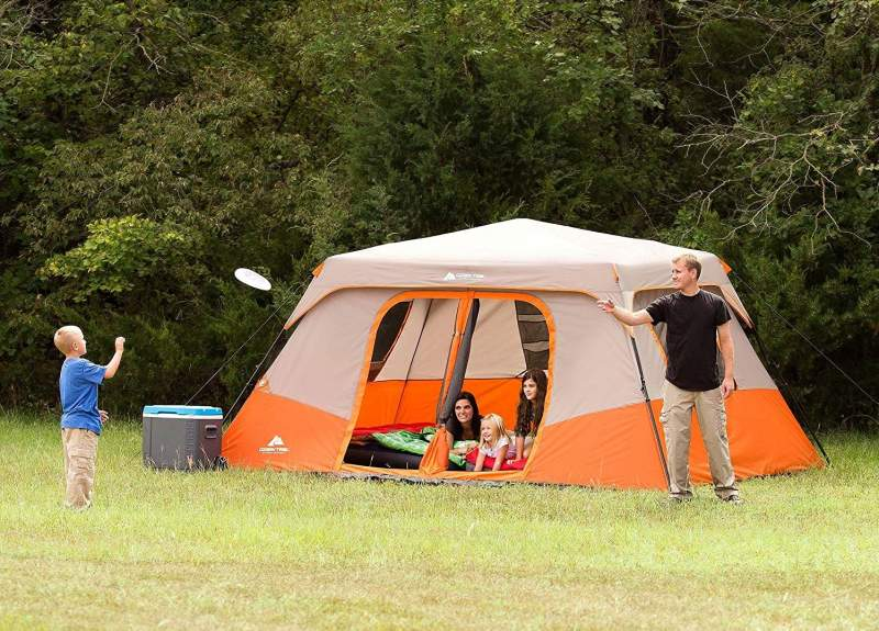 The Ozark Trail 8 Person Instant Cabin Tent Full Review featured image
