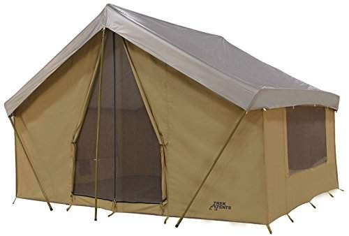 Trek Tents 245C Canvas Cabin 7 Person Tent