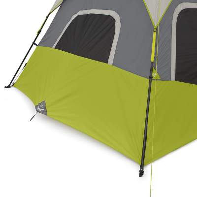 base vent on the CORE 9 person instant tent