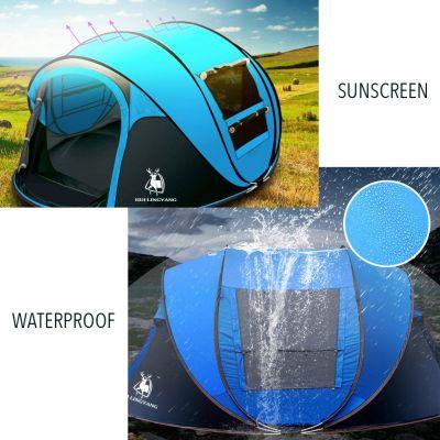 waterproof materials on the Hui Lingyang Pop Up Tent