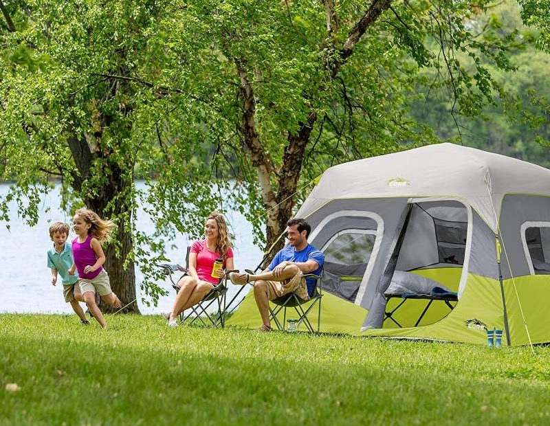 CORE 6 Person Instant Cabin Tent Review