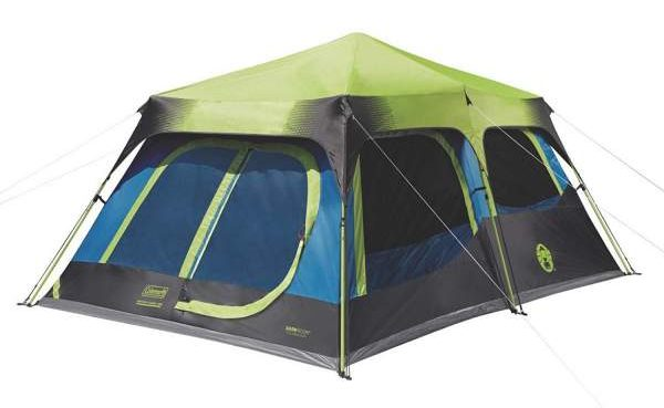 Coleman 10 Person Dark Room Cabin Tent Review