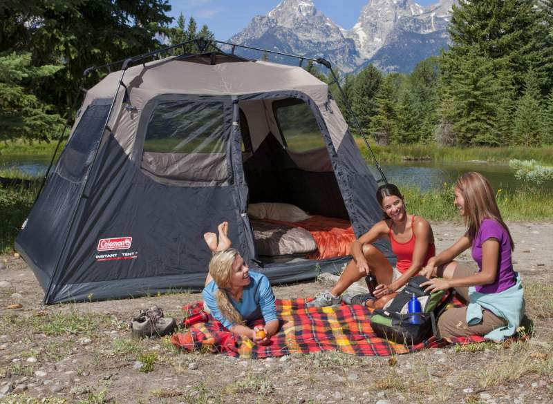 Coleman 4 Person Instant Cabin Tent Review