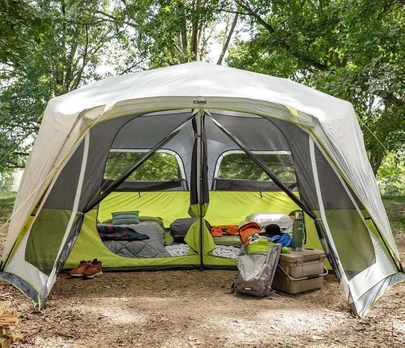 Core 10 Person Instant Cabin Tent Review The Tent Hub