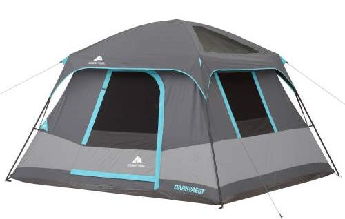 Ozark Trail 6 Person Dark Rest Cabin Tent