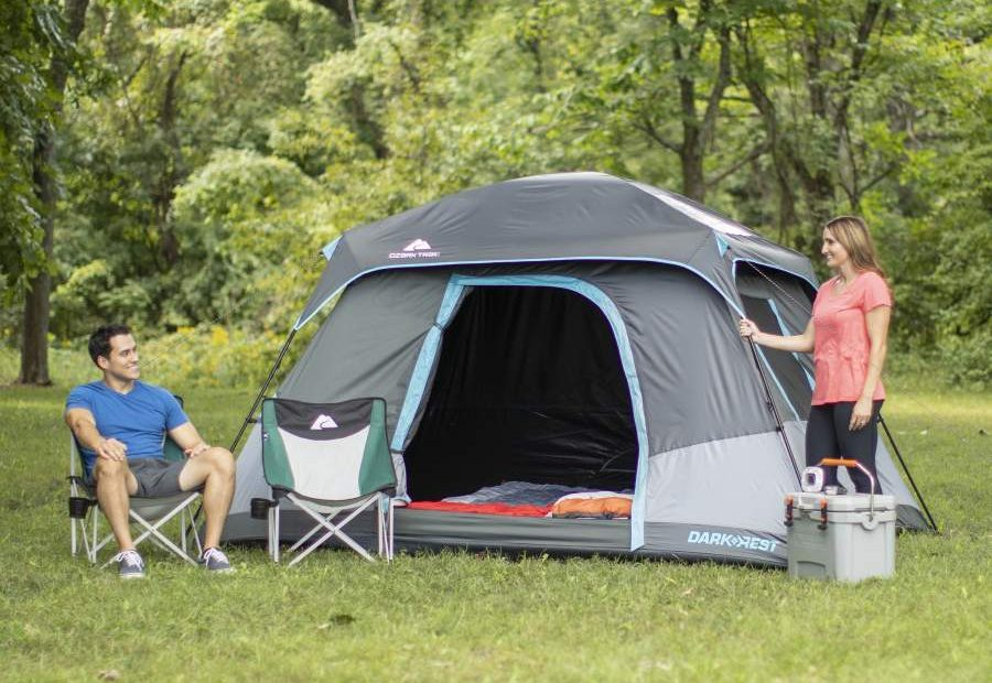Ozark Trail 6 Person Dark Rest Instant Tent Review