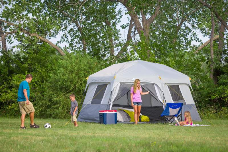 Ozark Trail 8 Person Hexagon Cabin Tent Review