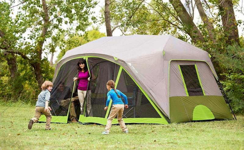 Ozark Trail 9 Person Instant Cabin Tent Review