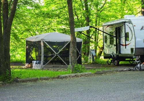 RV camping hub gazelle g6