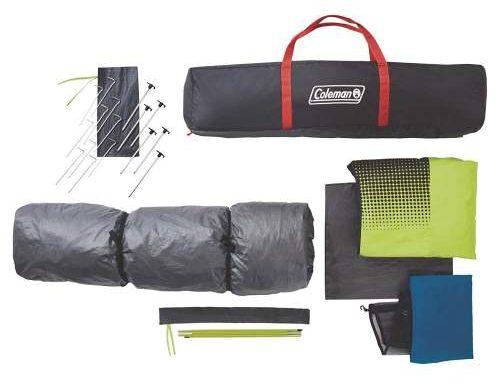carry case bundle Coleman Instant 10 Person Dark Rest