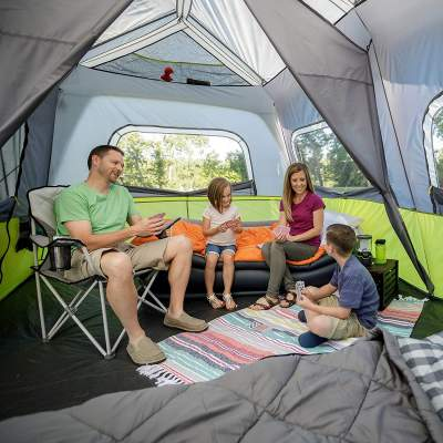 family area core 10 instant tent