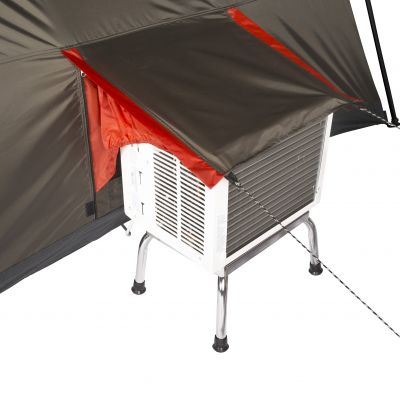ground power access ozark 12 instant tent