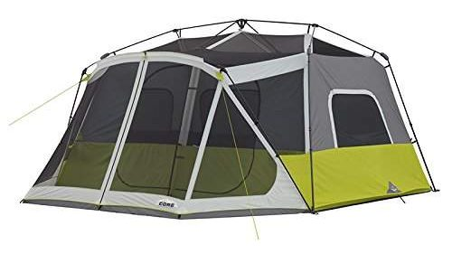 meshed frame CORE 10 Person Instant Tent