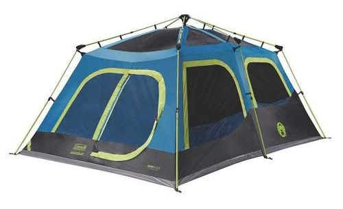 meshed frame Coleman 10 Person Tent