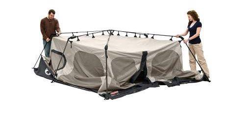 Expanding the Framework Coleman 8 Tent