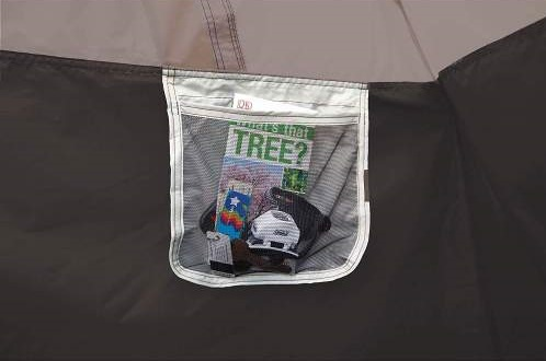 storage pockets Coleman 4 Person Instant Tent