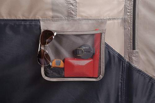 storage pockets Coleman 8 Person Instant Tent