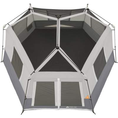 structure ozark 8 man hexagon tent