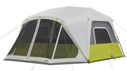 tent view CORE 10 Person Instant Tent