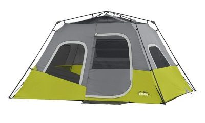 without rainfly CORE 6 Person Instant Cabin Tent