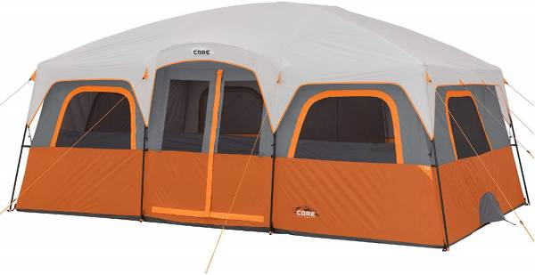 Core 12 Person Extra Large Cabin Tent