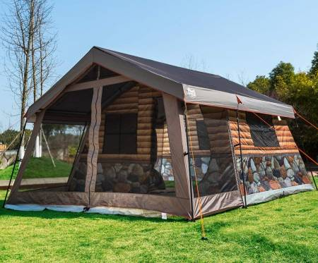 Timber Ridge Family Log Cabin Tent