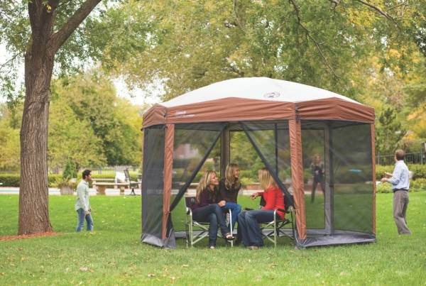 outdoor shelter coleman screenhouse