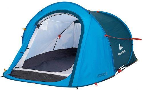 Blue Quechua Waterproof Pop Up Tent