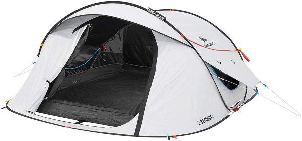 Quechua 2 Seconds III Fresh & Black Waterproof Pop Up Tent