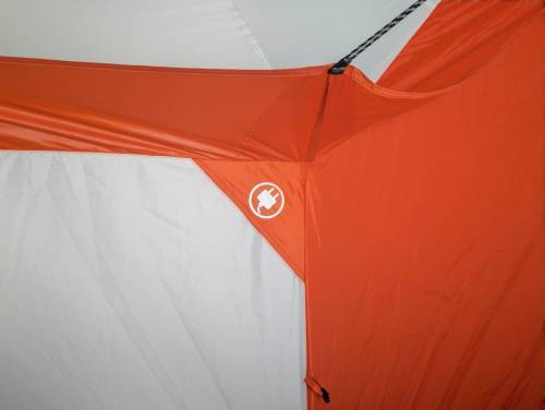 ac access port hole for ozark yurt tent