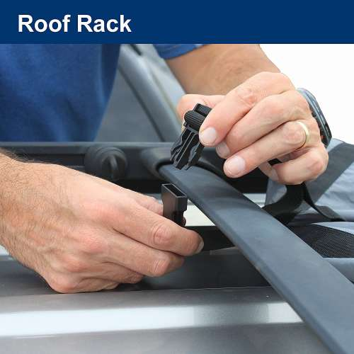 attaching suv tent to roof rack