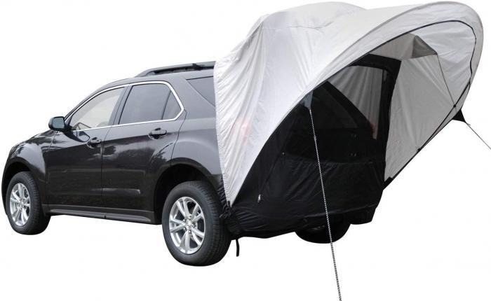Napier Cove SUV Tent on suv