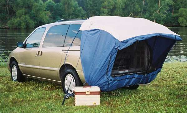 explorer suv tent attached to suv