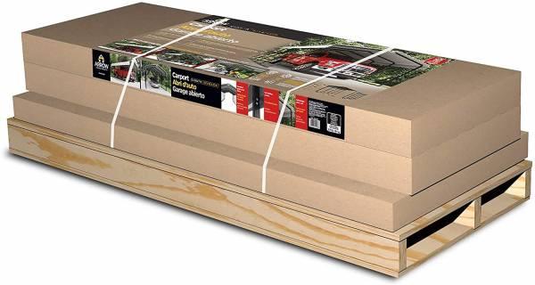 Arrow Steel Carport delivery package