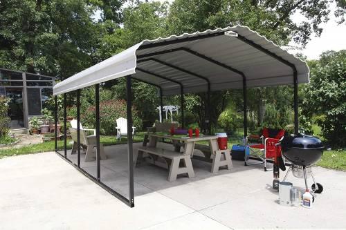 Arrow Steel Carport event shelter