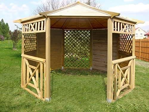 Checo Home and Garden Wood Gazebo