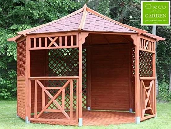 Checo Pavilion Wooden Gazebo