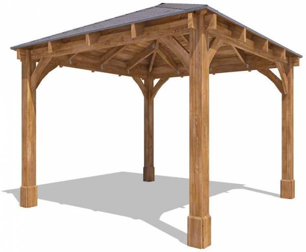 Dunster House Heavy Duty Wood Gazebo