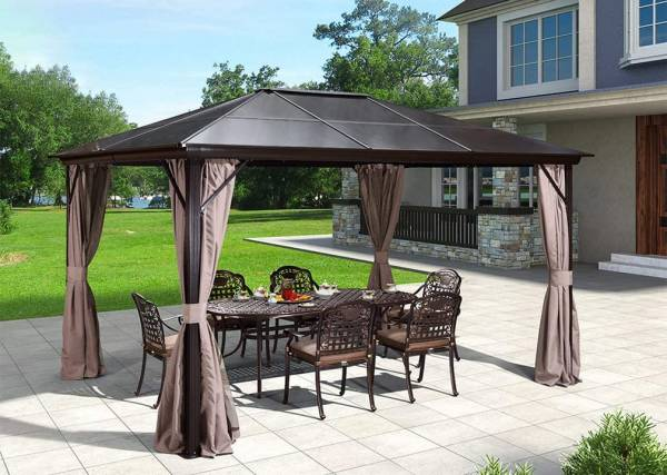 Erommy Outdoor Hardtop Gazebo