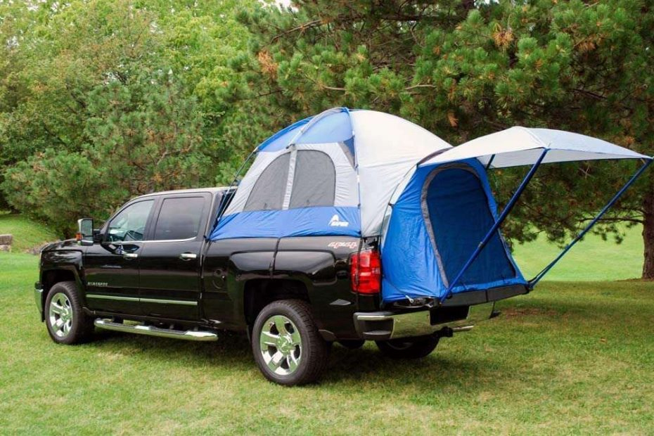 sportz truck tent on a ford truck