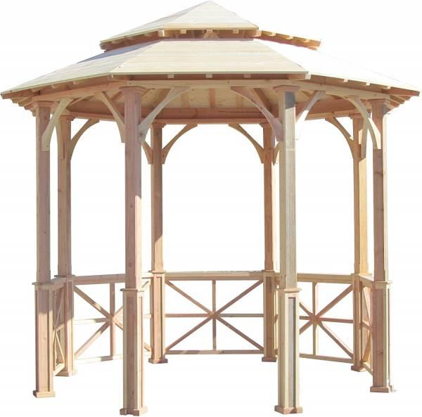 SamsGazebos 10' Wooden Octagon Gazebo