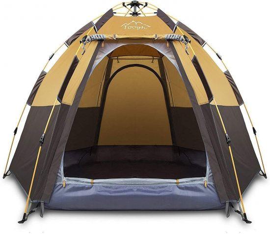 Toogh Pop Up Tent dark brown