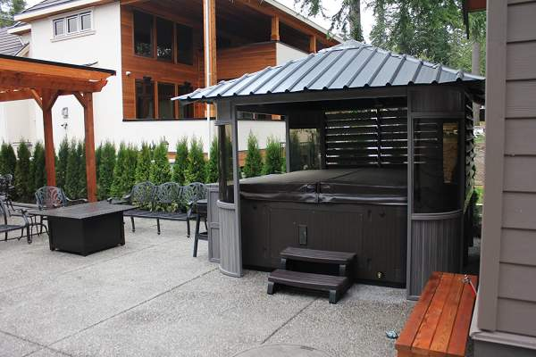 Zento 10 x 10 Spa Gazebo