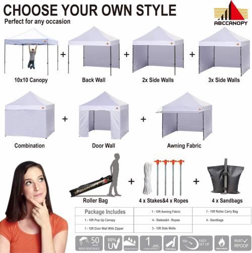 abc canopy setup ideas