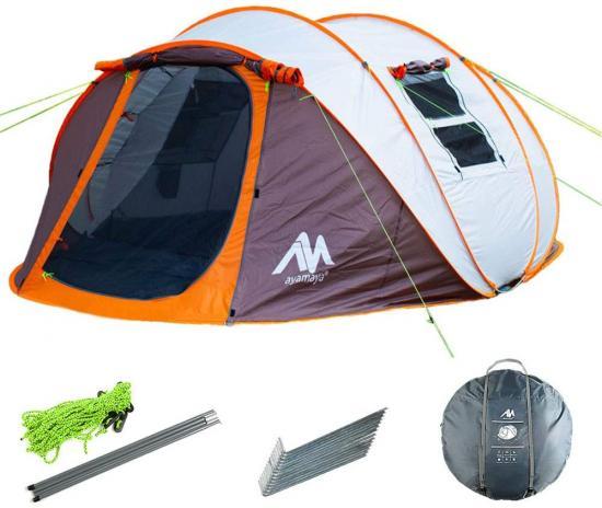 ayamaya pop up tent with vestibule