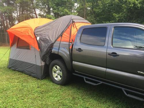 rightline gear truck tent and suv tent combo
