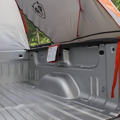 rightline gear truck tent inside view