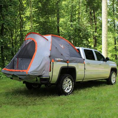 rightline gear truck tent pitched view